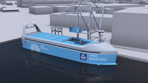 automated container ship