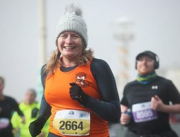 Tracey runs the Brighton Half